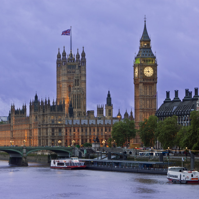 """Parliament of London"" stock image"