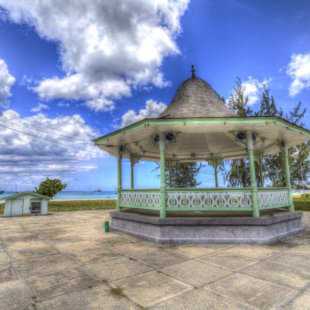 """Bandstand Bridgetown Barbados"" stock image"