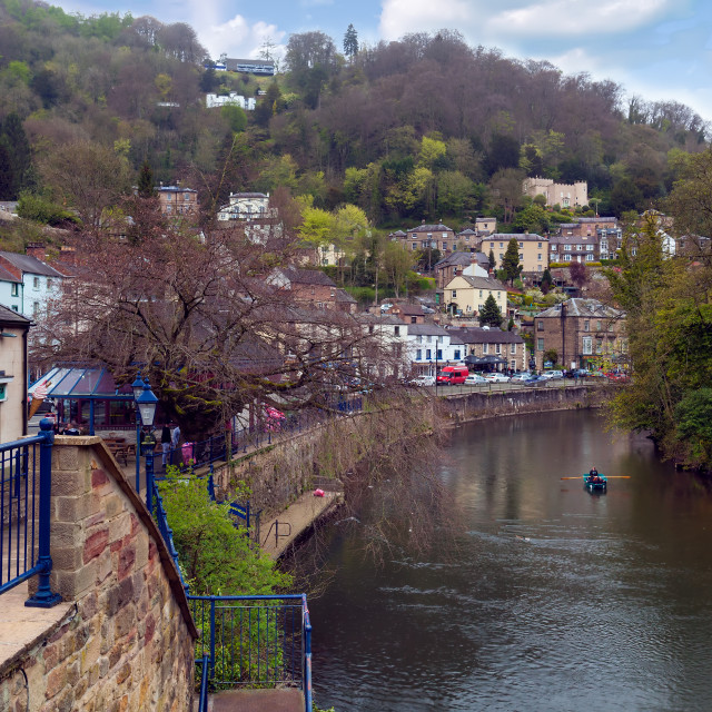 """Matlok Bath, England, UK"" stock image"