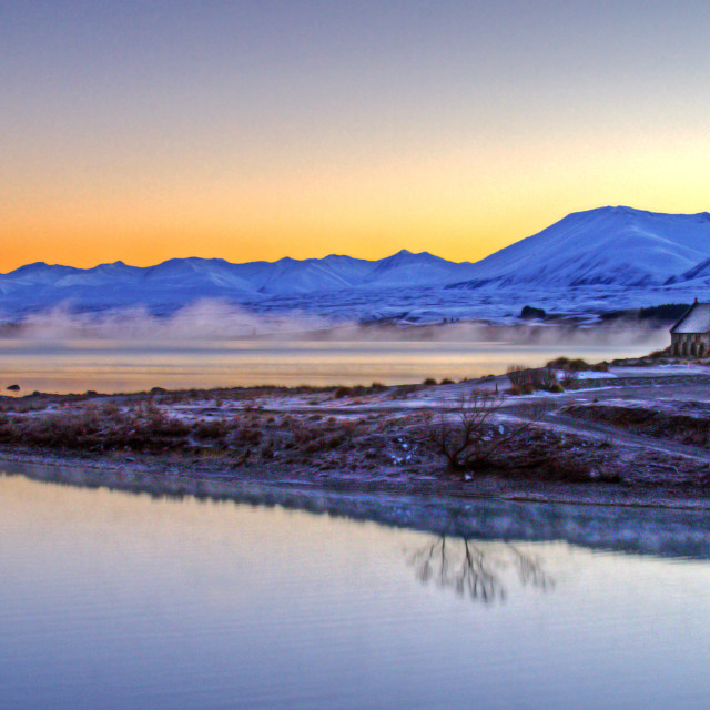 """Lake Tekapo, New Zealand"" stock image"