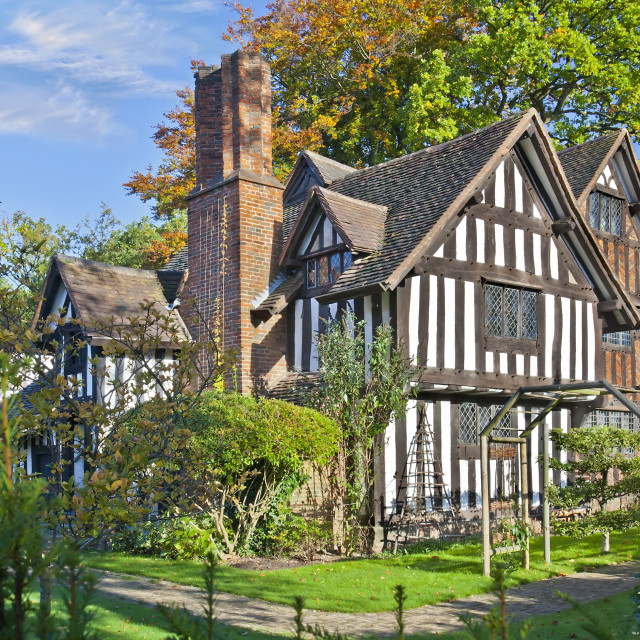 """Selly Manor Museum in Birmingham, England, UK"" stock image"