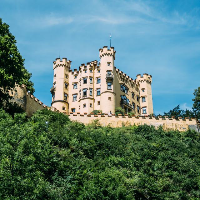 """""""Hohenschwangau Schloss"""" stock image"""