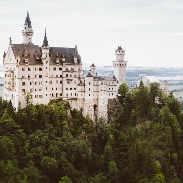 """Schloss Neuschwanstein"" stock image"
