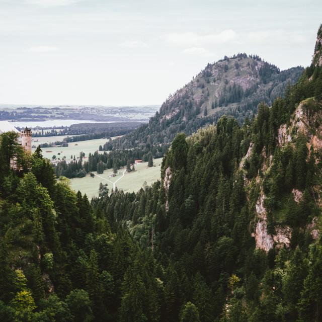 """""""Schwangau Alps"""" stock image"""