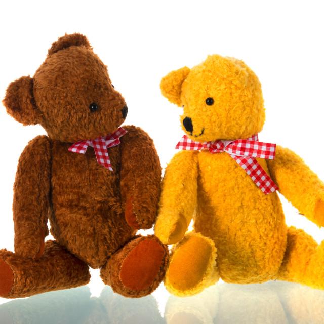 """Stuffed toys bears"" stock image"