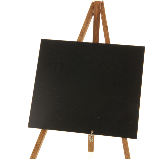 """""""black board isolated over white background"""" stock image"""