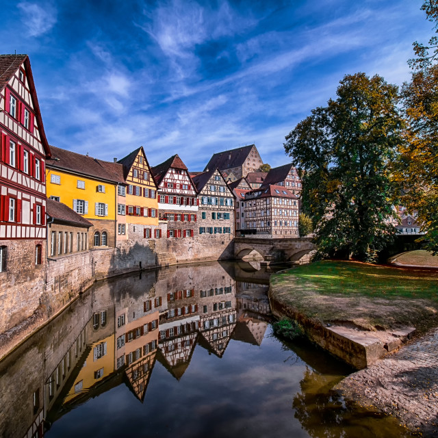 """Schwäbisch Hall Looks Great In Fall"" stock image"