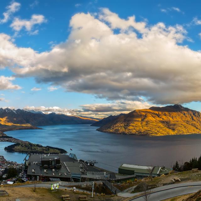 """""""Queenstown New Zealand"""" stock image"""