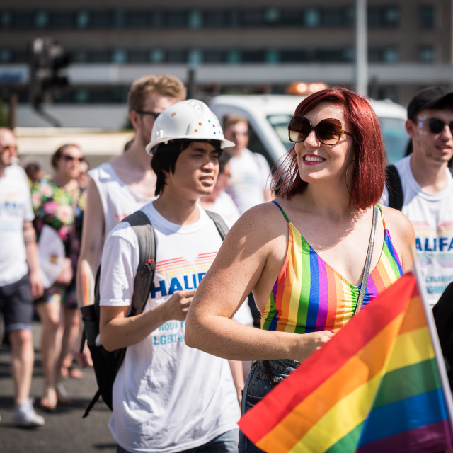 """Pride Celebrations, Leeds"" stock image"