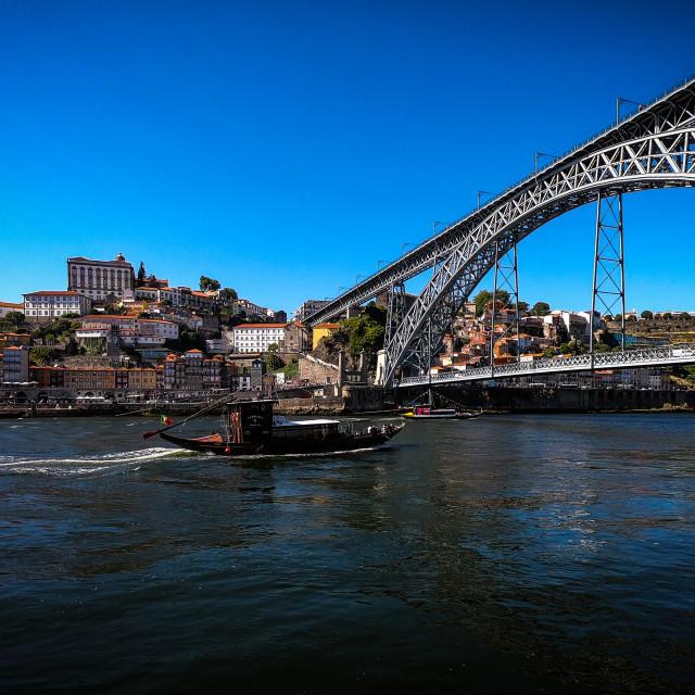 """""""Luis l Bridge"""" stock image"""