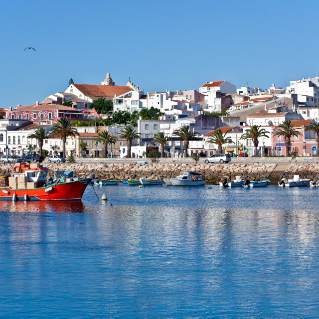 """Lagos in Algarve, Portugal"" stock image"