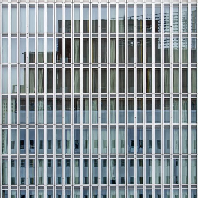 """""""De Rotterdam office facade"""" stock image"""