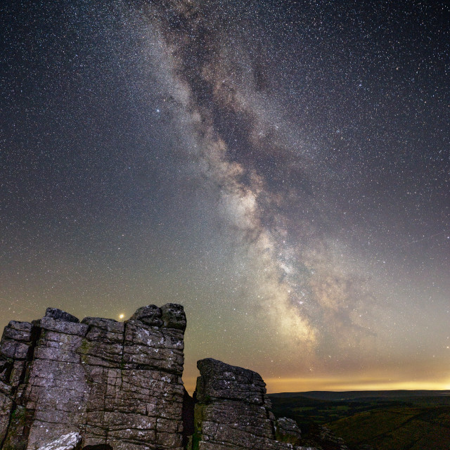 """Hookney Tor Astro"" stock image"