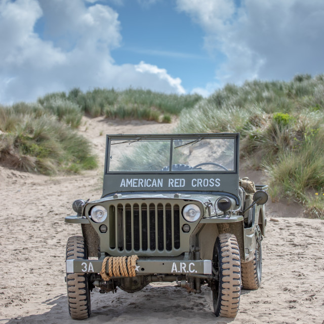 """""""Willys MB Jeep"""" stock image"""