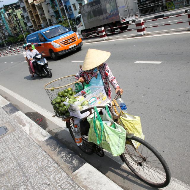 """1st District, Saigon, South Vietnam"" stock image"