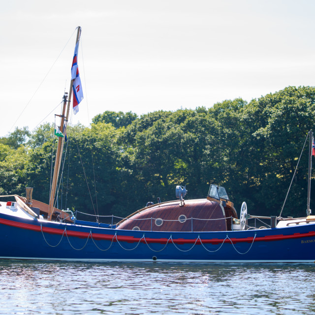 """Vintage Life Boat"" stock image"