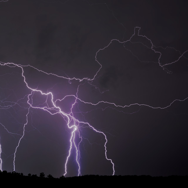 """Lightning bolts"" stock image"