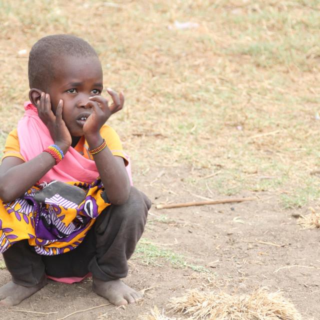 """Masai mara"" stock image"