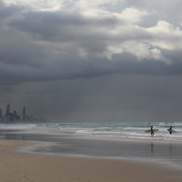 """Burleigh Heads, Gold Coast"" stock image"