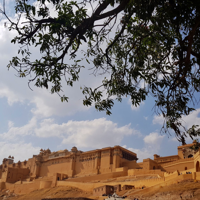 """Amber Fort, Jaipur"" stock image"