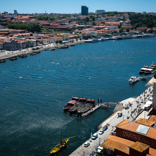 """Porto City 12"" stock image"