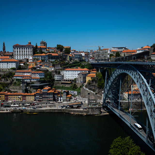 """Porto City 2"" stock image"