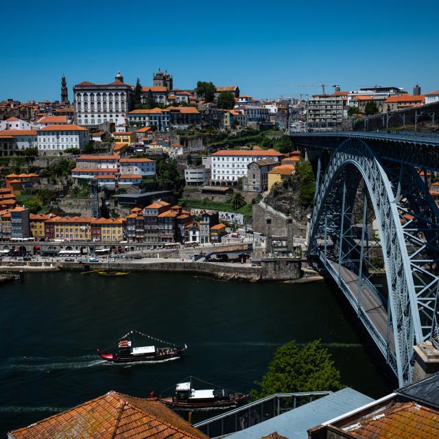 """Porto City 4"" stock image"