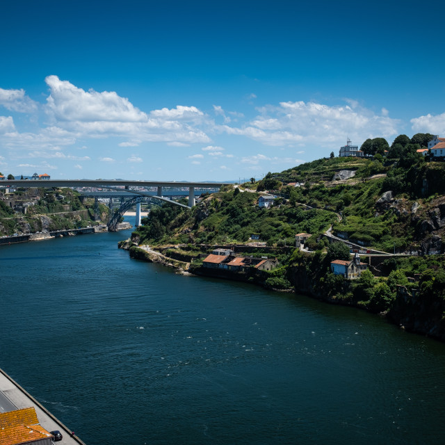 """River Douro"" stock image"