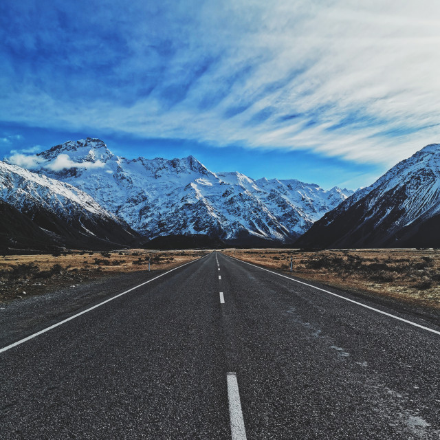 """""""MT. COOK"""" stock image"""