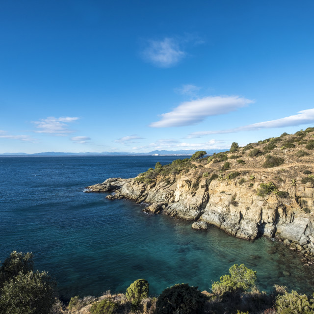 """""""Tranquil view of sea against sky"""" stock image"""