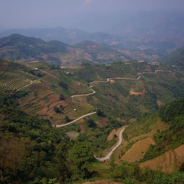 """Ha Giang Loop, Vietnam"" stock image"