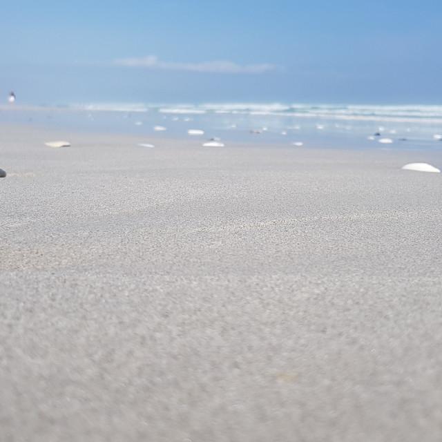 """""""Grotto Beach, SA"""" stock image"""