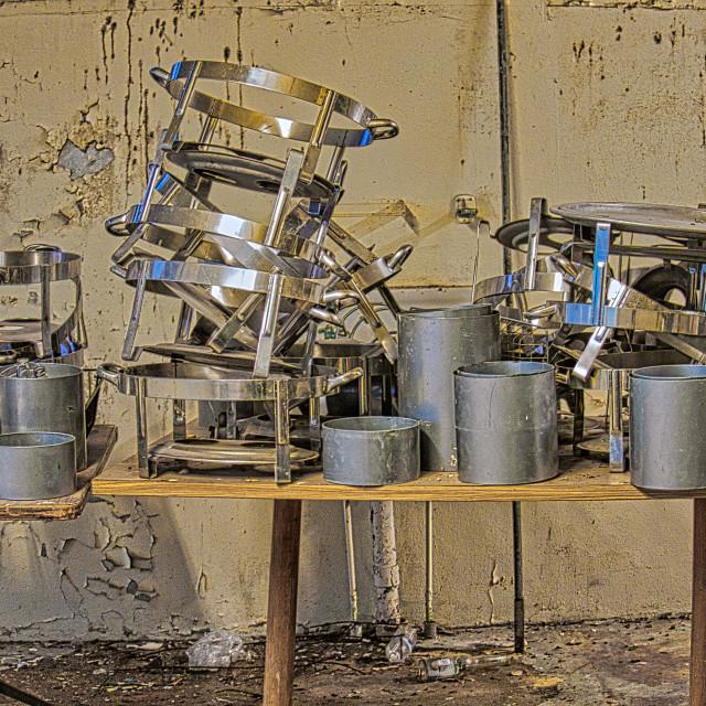 """""""abandoned kitchen"""" stock image"""