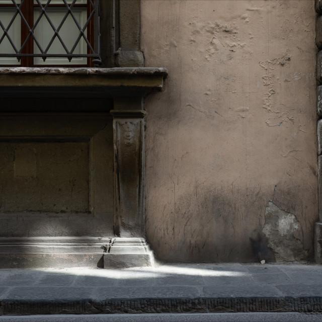 """Urban Street Art, Via Ghibellina, Florence"" stock image"