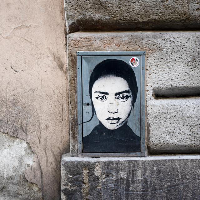 """""""Urban Street Art Florence"""" stock image"""