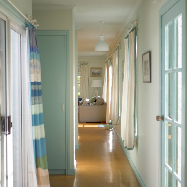 """Hallway at home"" stock image"
