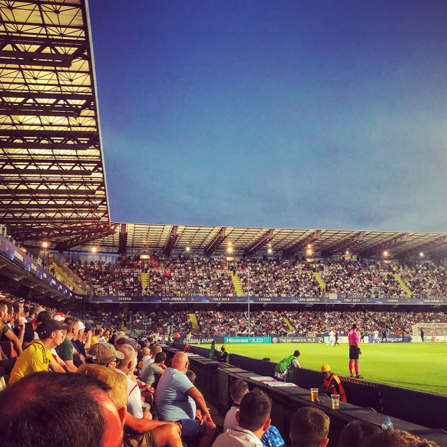 """Stadio Dino Manuzzi, Cesena"" stock image"