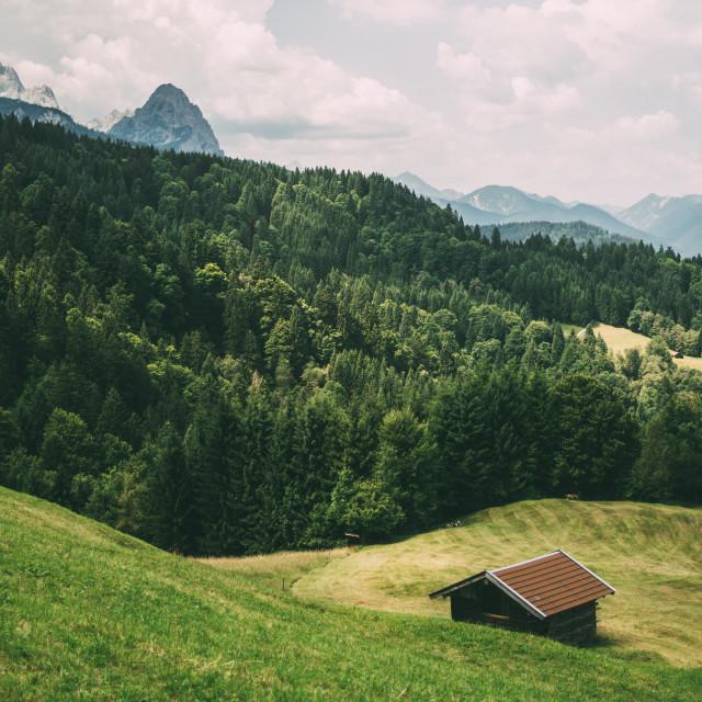 """Alpine Germany Landscape"" stock image"