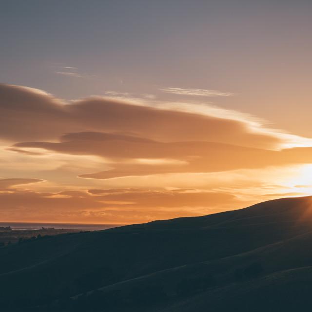 """""""Sunrise NZ"""" stock image"""