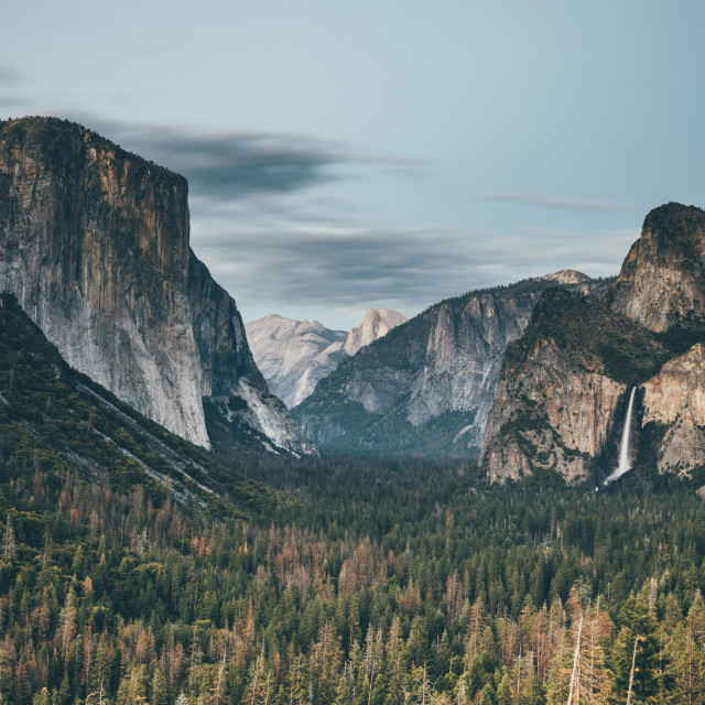 """Tunnel View Yosemite"" stock image"