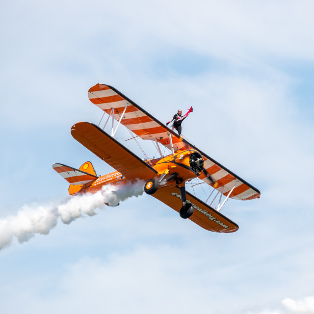"""Festival of Flight, Newcastle, Co. Down on 22 June 2019"" stock image"