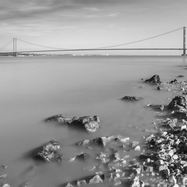 """Humber Bridge"" stock image"