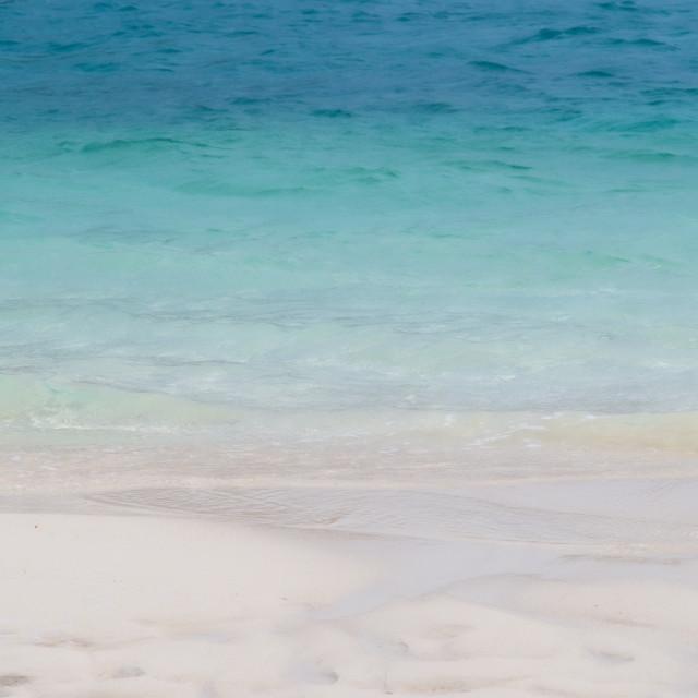 """Sun sea sand"" stock image"