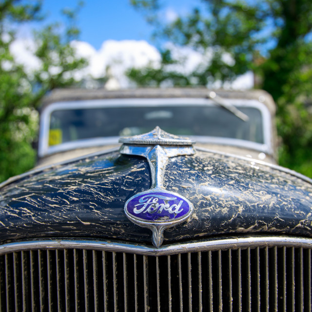 """Vintage Ford Hot Rod"" stock image"