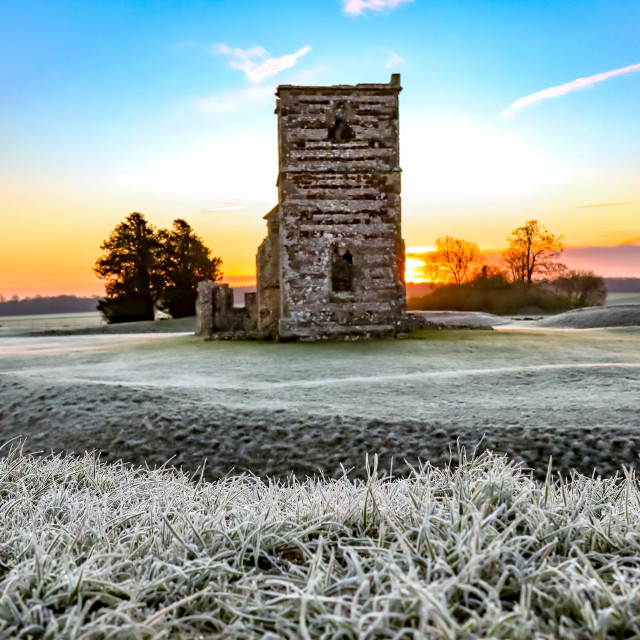 """Knowlton Frost"" stock image"