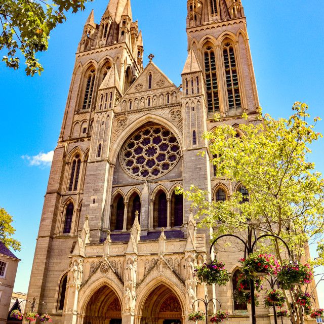 """Truro Cathedral"" stock image"