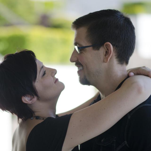 """""""Loving Couple"""" stock image"""