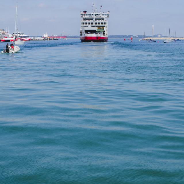 """A Passenger Ferry"" stock image"