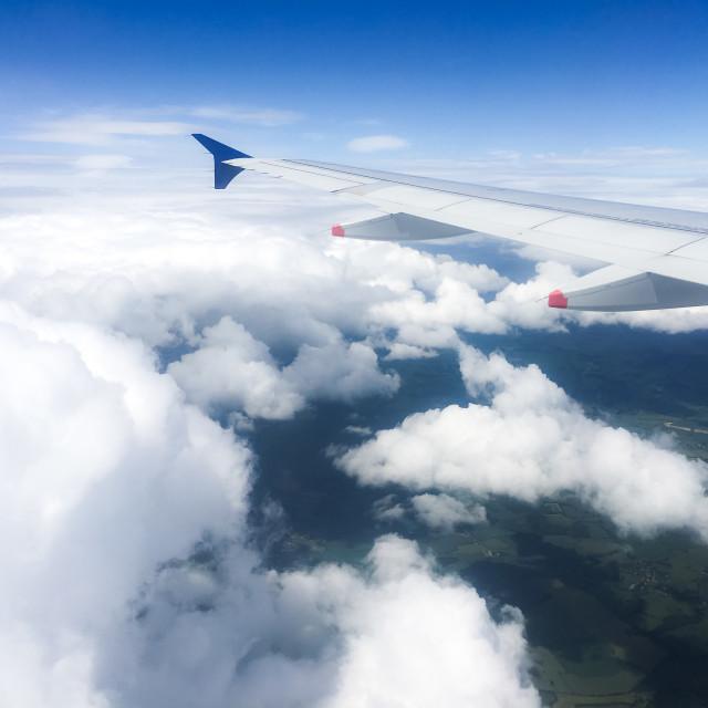 """Air Travel"" stock image"