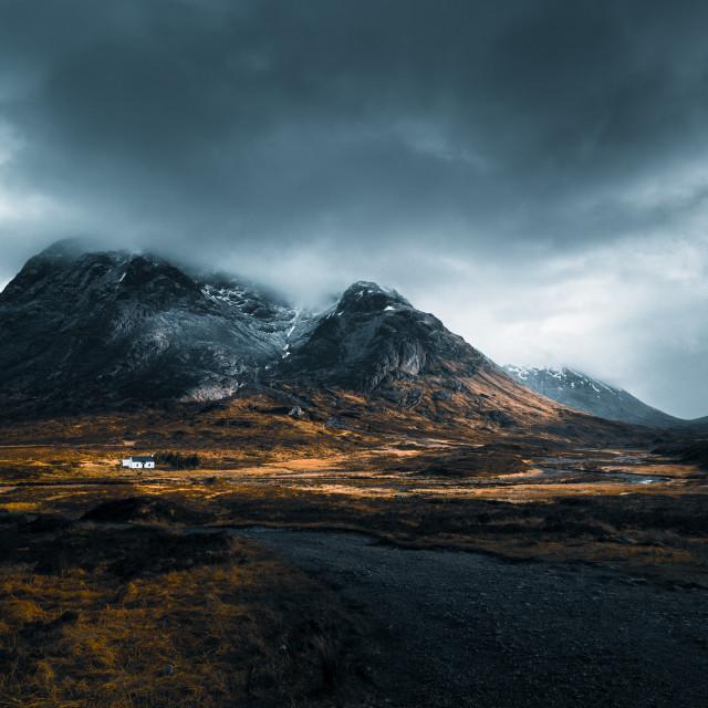 """Glencoe, Scotland"" stock image"